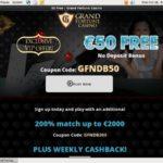 No Deposit Grandfortune