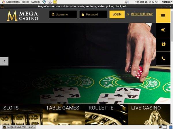 Mega Casino Registrati