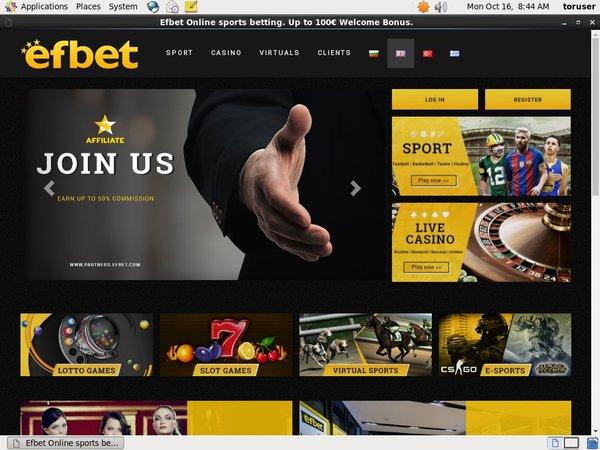 Efbet Gambling Offers