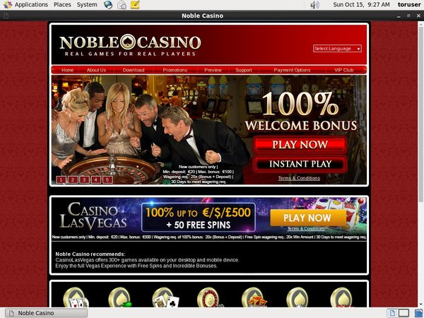 Noble Casino Onlinecasino