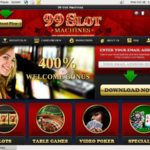 99 Slot Machines New Customer