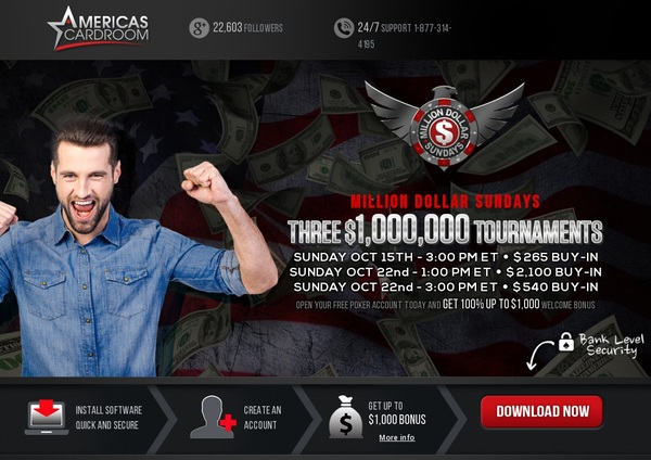 Americascardroom Bonus Code Offer