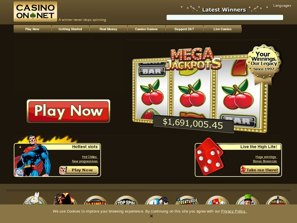 Casinoonnet New Customer Promo