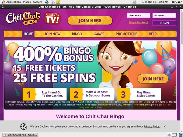 Chitchatbingo Website