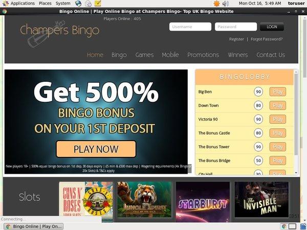 Free Online Poker Champersbingo