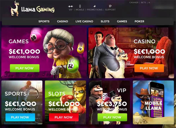Llamagaming Free Games