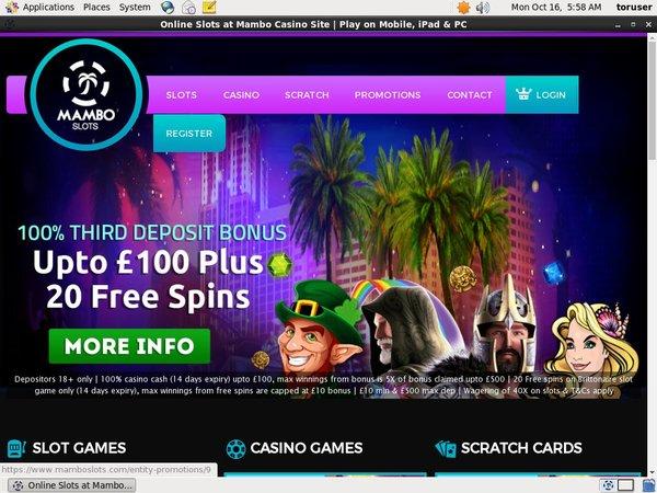 Mambo Slots Games And Casino