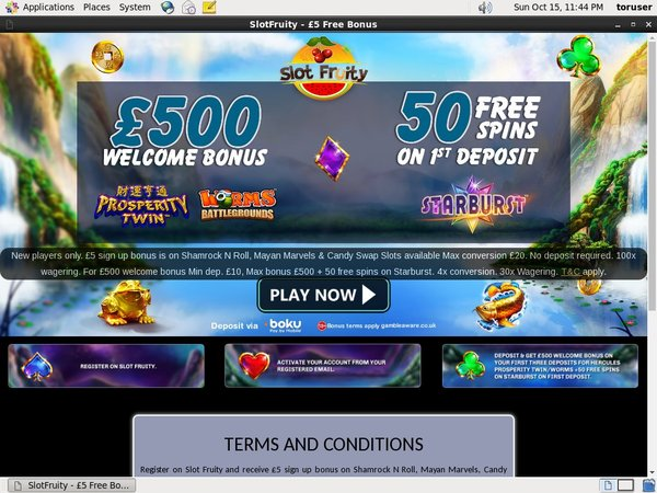 Slot Fruity Nederland