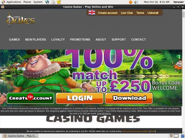 Casinodukes Join Form