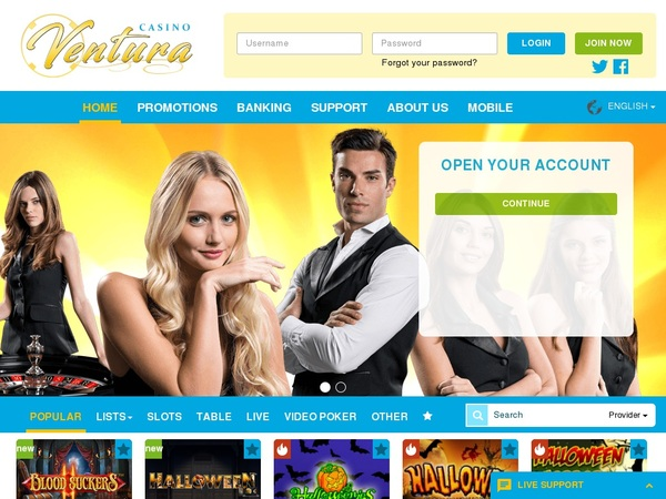Casinoventura Usa