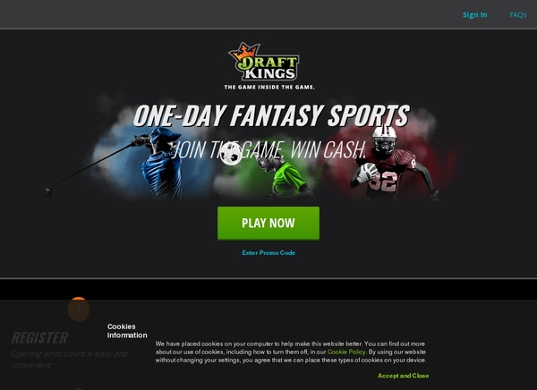 Draft Kings Joining Offer