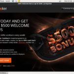 Partypoker Register Form