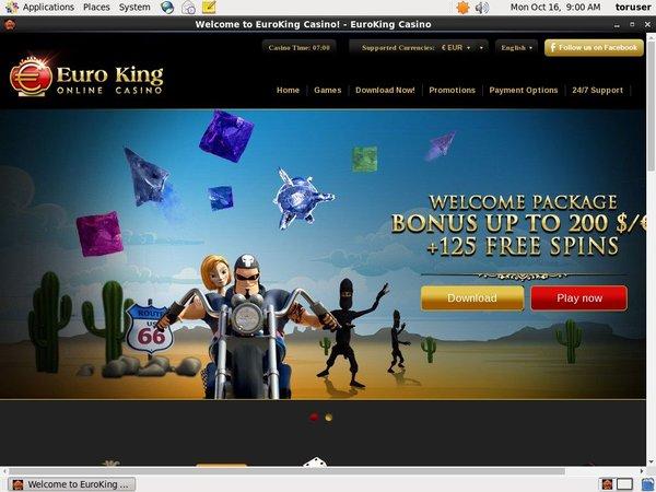 Euro King Casino Mobile Casino