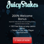 Juicy Stakes Deposit Bonus
