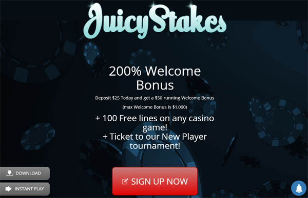 Juicy Stakes Promotions Offer