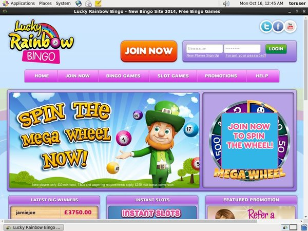 Luckyrainbowbingo Betting