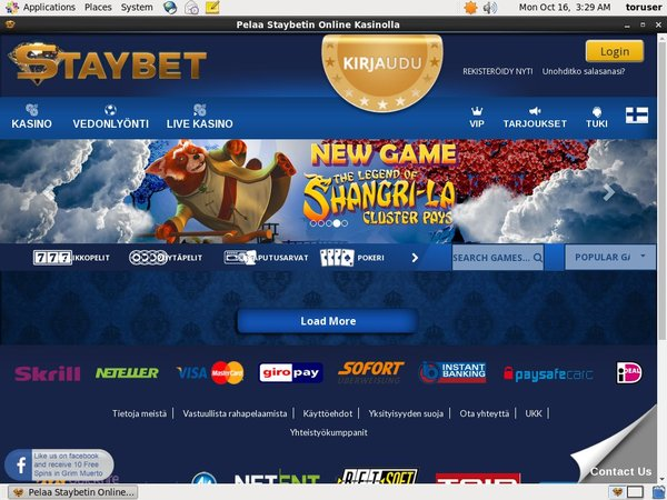 Staybet Top Gambling Websites