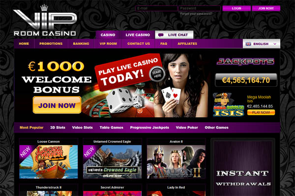 VIP Room Casino Download App