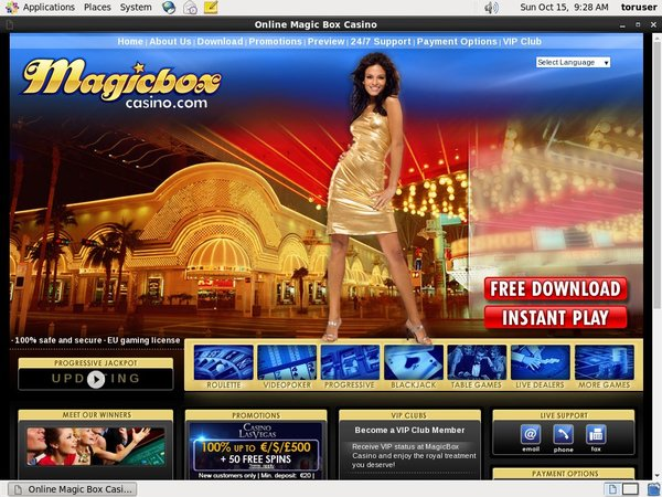 Live Casino Uk Magicboxcasino