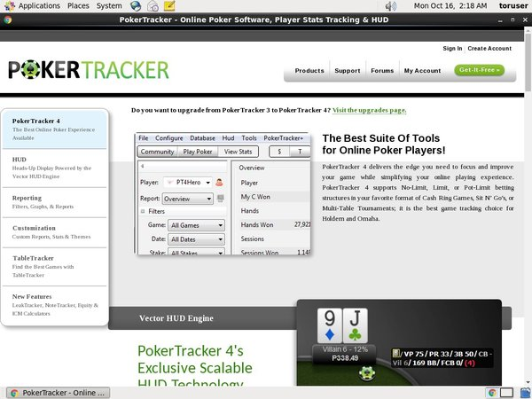Poker Tracker 4 Discover Card