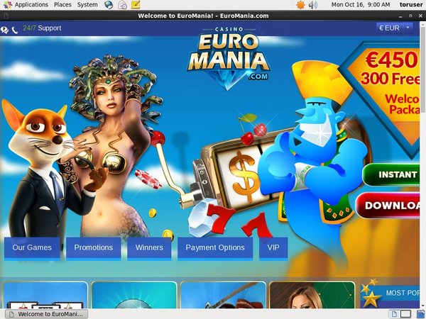 Euro Mania Best Slots