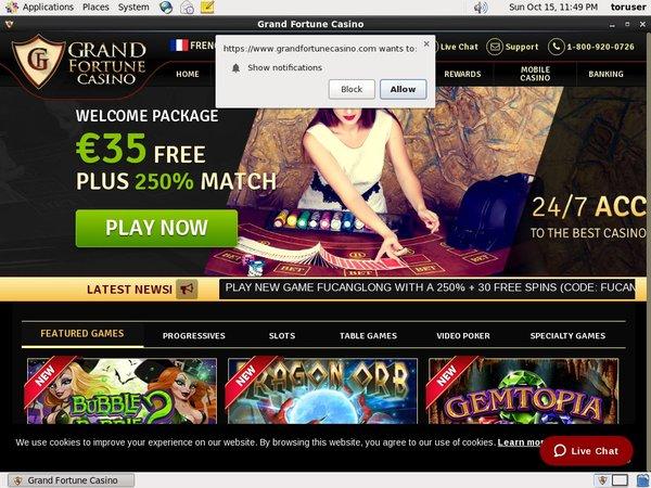 Grandfortunecasino Online Casino Reviews