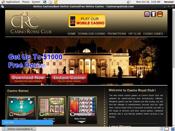 Royal Casino Club Join Page