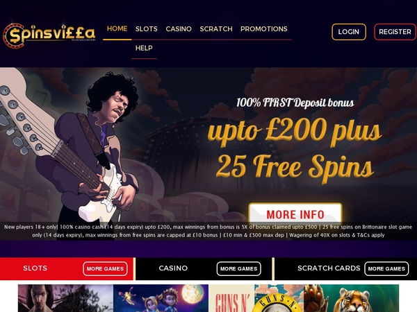 Spinsvilla Online Casinos