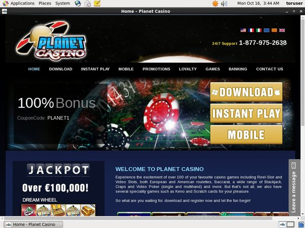 Planet Casino Paypal Deposit