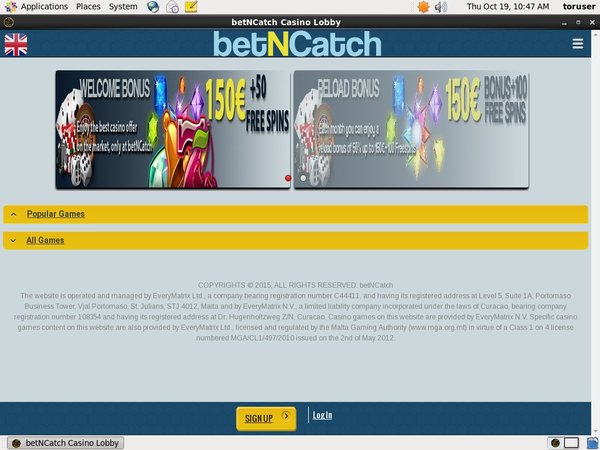 Bet N Catch Best Free Bonus